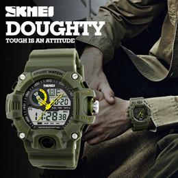 Argentina Marca al aire libre Reloje Hombre Estilo Digital Dual s shock Relojes tácticos Hombres Moda Hombre Relojes deportivos Marca de lujo MK913 Suministro