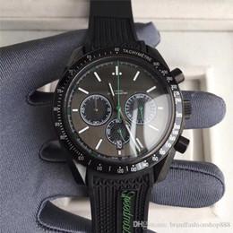 2019 мужчина часы хронограф известные бренды Черный Бизнес 2 Стиль Мужские Часы Vk Кварцевый Механизм Хронограф Наручные Часы Роскошные Часы Корпус Из Нержавеющей Стали Известный Дизайнер Бренда дешево мужчина часы хронограф известные бренды