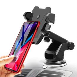 2019 пластиковая карточка для планшета Новый и модный универсальный автомобильный держатель iPhone, длинная шея, одно касание автомобильный держатель, совместимый