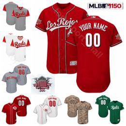 jersey de tucker Rebajas Cincinnati Béisbol Rojos 150 Aniversario 33 Jesse Winker Jersey 16 Tucker Barnhart 22 Derek Dietrich 3 Scooter Gennett 4 Jose Iglesias