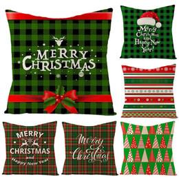 Divano di calze online-40 # Albero di Natale Calze a fiocco di neve Fodera per cuscino Fodera per cuscino Divano Sedia Decor Federa decorativa per la casa