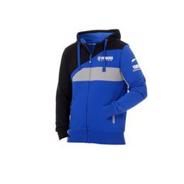 Nuovo 100% cotone Moto GP per Yamaha m1 Team Racing Felpa con cappuccio blu Sports Crew Fleece Sweatshirt 8 da