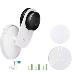 2019 handy ohne kamera Wandhalterung Ständer Halterung Halter für Yi Home Camera / Xiaomi Mi Home Security-Kamera 360-Grad-Schwenk-Kit mit Drahtklammern