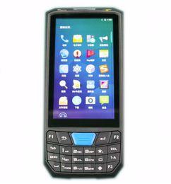 Scanner nfc on-line-PL-45L Industrial Android 7.0 PDA 1D Barcode Scanner 2D NFC IP66 2G RAM + 16G ROM Handheld Terminal Rfid Leitor de Armazenamento de Dados PAD Colher