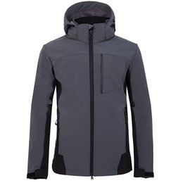 bd935e8f71 2019 New men s outdoor camping hiking sports north jacket composite velvet  soft shell face coat 1806
