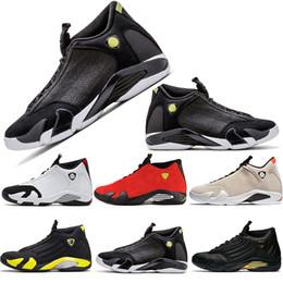 2019 brotes de coches 14 zapatos de baloncesto Indiglo Luxury Designer Men last shot arena de desierto criado negro negro rojo coche negro amarillo Hombres Mujeres Entrenadores 8-13 rebajas brotes de coches