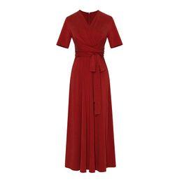 Vestido francês vintage on-line-Vestidos de mulheres Vintage verão V-Neck Francês Gentlewoman Vestido Moda 3 Cores fêmea magro Vestuário S-XL