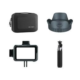 lentille d'extension Promotion PGYTECH OSMO ACTION VLOG Set.Include étui de transport + boîtier de caméra + parasoleil + extension de caméra action trépied mini