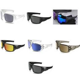 6eba07a227 Gafas deportivas de lujo de marca Gafas de sol de marca vintage Abrigo  fresco Gafas redondas de recubrimiento Hombres Sunnies Athletic Racing Gafas  10 UNIDS ...