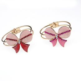 Canada Bracelet de chaîne de breloques de chaîne de breloques en argent sterling 925 avec des bijoux en émail rose Offre