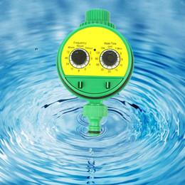 solenóide plástico de água Desconto Electrónico de rega Temporizador plástico Solenoid Garden Lawn irrigação por aspersão Controlador HTQ99
