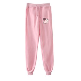 Piggy Cute Pig Cartoon Long Sweatpants Teens Boys Girls Jogger Trousers with Pockets