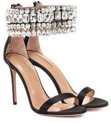 Seide hochzeit sandalen online-Freie Verschiffen 2019 Damensatinseidenlederhochzeitsdiamant einzeilige geöffnete Blickzehen Stiletthohe Ferse SANDALEN SCHUHE Reißverschlussgröße 35-42
