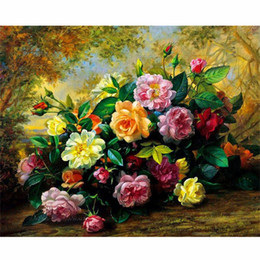 Pintura A óleo Por Números Quadros Colorir Por Números Pictures Home Decor Pintura Da Lona Por Números Decorações RSB8180 de Fornecedores de arte clássica pinturas mulheres
