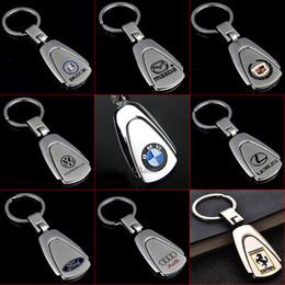 2019 caso chiave toyota camry 2 pezzi in metallo 3D portachiavi auto per BMW Jeep Lexus catena chiave auto-styling portachiavi automobilistico portachiavi ciondolo per regalo accessori auto