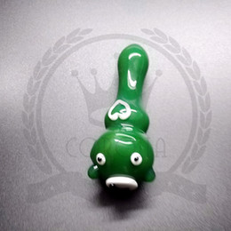 tubi di piedi Sconti Aliens super-piedi singolo tubo mano tubo di tabacco tubo di vetro tabacco inebriante mano l cucchiaio