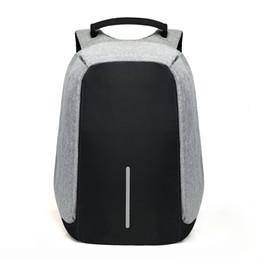 15 polegada Mochila Laptop de Carregamento USB Anti Roubo Mochila Homens Mochila de Viagem À Prova D 'Água Saco de Escola Mochila Masculina de
