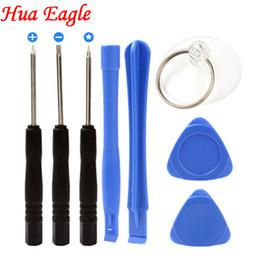 Para las herramientas de reparación de teléfonos iPhonein 8in1 para iphone X 8 7 plus 6 6S plus Conjunto de herramientas de reparación para samsung s7 edge xiaomi huawei desde fabricantes