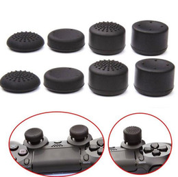 Ps4 joystick de agarre online-Empuñaduras analógicas mejoradas ThumbStick Joystick Grips Extra High Cover Caps Para Sony Play Station PS4 Game Controller 8 unids / set