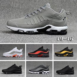 95 Mercurial TN Mens Designer Running Shoes 2019 Men Casual TPU Air Cushion Trainers Outdoor Best Hiking Jogging Sports Sneakers 40 46