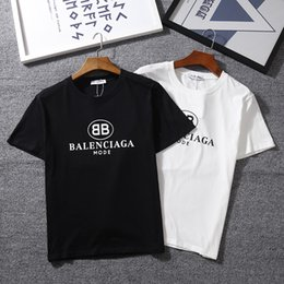 Tee-shirts pour hommes T-shirts femme Nouveautés T-shirts manches courtes d'été T-shirts femme T-shirt O-cou Impression de lettre lâche ? partir de fabricateur
