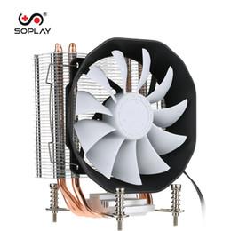 2019 kühlkörper für pc SOPLAY CPU Kühler 3 Heatpipes 4pin 12cm PWM Lüfter PC Computer für INTEL CPU Kühler Lüfter Kühlkörper PC Kühler rabatt kühlkörper für pc