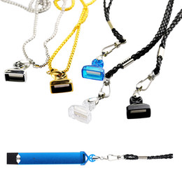 Lanyard stifte online-100% authentische Demon Killer Lanyard Vape Pen Metall Leder Halter passen COCO Portable Pod Kit E-Zigarette Zubehör String mit 5 Farben