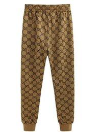 Pantaloni casual da donna in stile primaverile europeo e americano con stampa primaverile da pants nuove immagini di moda per l'uomo fornitori