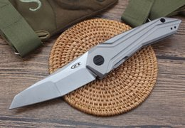 ZT0055 alta qualidade sabre faca ao ar livre tático dobrável faca de caça de acampamento sobrevivência lâmina tático auto-defesa Hot Favorita de