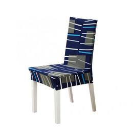 Coperture rimovibili della copertura della sedia dell'elastico della stampa rimovibile del poliestere per le coperture della sedia dell'hotel dello spandex di nozze dell'hotel domestico Nuovo da