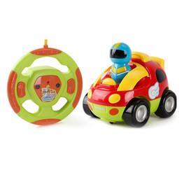 Bande dessinée mignonne voiture de course de RC avec la musique légère commande de jouet de commande de radio d'apprentissage pour les enfants mini voiture de Rc ? partir de fabricateur