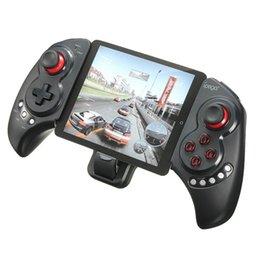 IPega PG-9023 Kablosuz Bluetooth Oyun Denetleyicisi Gamepad Joystick Streç Braketi ile iPhone 6 için Artı iOS Android Sistemi nereden iphone gamepad ipega tedarikçiler