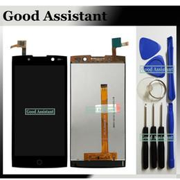 alcatel flash Desconto Para Alcatel OneTouch Flash 2 OT-7049 OT-7049D 7049 7049D LCD Display + Tela de Toque Digitador Assembléia Substituição Livre Ferramentas