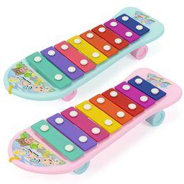 Velho instrumento on-line-Bebê instrumento musical 8-tone mão tocando piano 1 brinquedo iluminação 3-year-old boy e música menina