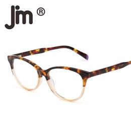 8aa1b615cd Retro Vintage Gafas Acetato Marco óptico Resorte Bisagra Lente transparente  RX-capaz Gafas sin receta Hombres Mujeres