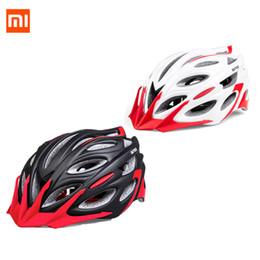 2019 radhelm rot weiß blau Xiaomi Mijia Qicycle Elektroroller Helm Sport Fahrrad Skateboard Erwachsene leichte abnehmbare Hut Kopf einstellbar mit EPS