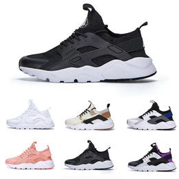max sports shoes Promo Codes - Air Huarache 4 IV Ultra Running Shoes for Men Women Designer Triple Black White Grey Huaraches Classic Jogging Sport Sneakers Max size 36-46