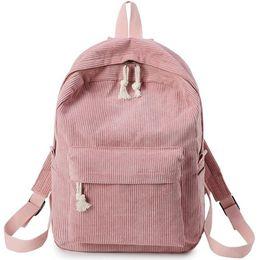 mochilas para chicas de secundaria Rebajas Nueva bolsa de mujer Lady Girls Canvas Travel School Mochila Mochila Camping Laptop Senderismo Bolsa de alta calidad más grande