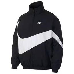casaco z Desconto 2019 Zip NK Jacket Men Primavera Outono marca de moda Slim Fit Coats Masculino Casual Bomber Baseball Jacket Mens Overcoat Z-9566