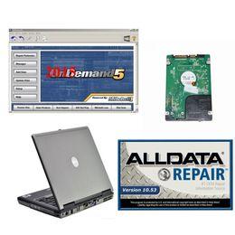 2019 laptop di alldata mitchell alldata 10.53 e riparazione auto del mitchell del software 2018 versione installata portatile D630 hdd 1,5 TB per auto camion sconti laptop di alldata mitchell