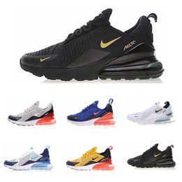 vestir grandes agujeros Rebajas 2020 nike air vapormax max 270 Flyknit Utility nuevo diseño zapatos corrientes del mens instinto Triple OG Negro PRESTO Racer Baloncesto TN Plus Chaussure de EE.UU. 7-11 L3 c02