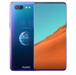 zte telefon tv Rabatt ZTE Nubia X Handy 8 GB / 128/256 GB Snapdragon 845 Octa Core 6,26 + 5,1 Zoll Dual Screen 16 + 24MP Kamera 3800 mAh Fingerabdruck-Telefon