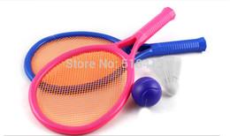 2019 bater brinquedos de madeira Raquete de Badminton das Crianças de Tênis Deixar O Bebê Mais Movimento Pai-filho Esportes Brinquedos Educativos Unisex Plástico 8-11 anos
