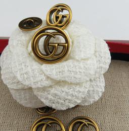 Designer bottoni per cucire marchio Meetee 18mm 23mm bottoni in metallo per accessori per cucire accessori per abbigliamento da donna cappotto maglione abbigliamento materiale da