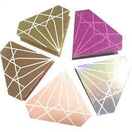 Faux cils en Ligne-Le maquillage magnétique a adapté la boîte de cils de faux de vison de cils de diamant de boîte de cils à emballer la boîte de faux cils