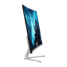 2019 cámara vga pc Wearson 23.8 pulgadas Juego Competición Curvo Pantalla panorámica LCD Gaming Monitor Entrada HDMI VGA 2ms Respuesta WS238H