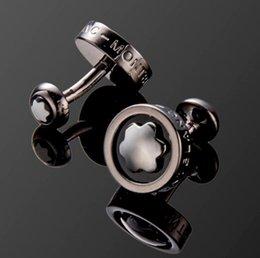Designer mens cuff links on-line-2019 Mens Designer Francês Camisa Abotoaduras 20 estilo de Casamento De Luxo Pai Noivo Groomsmen Presente Cuff Links Ornamentos Jóias