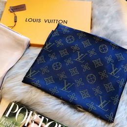 2019 Nuevos bufandas de lujo bufanda de seda de la cachemira del diseñador de la moda bufandas del mantón de las señoras bufandas envío libre desde fabricantes