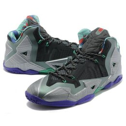 best service 37c94 c52bd Mens What the Lebron 11 XI basketball shoes Easter BHM Christmas Blue MVP  Championship Black Red Silver youth kids sneakers