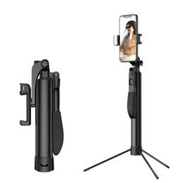 штативы Скидка Штатив для смартфона с ручным захватом-все металлические сверхмощные ручной стабилизатор и штатив для смартфонов и камер